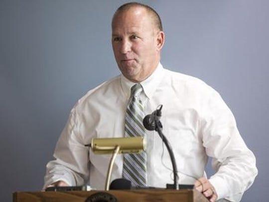 Muncie Police Chief Joe Winkle