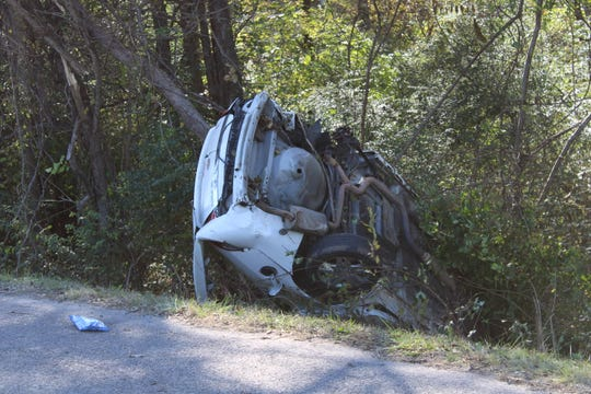 A 19-year old man was killed after his vehicle veered off the roadway and down an embankment, striking a tree, in the southbound lane of NW Broad Street (Hwy 41/70) on Wednesday morning, Nov. 6, Murfreesboro Police confirmed.