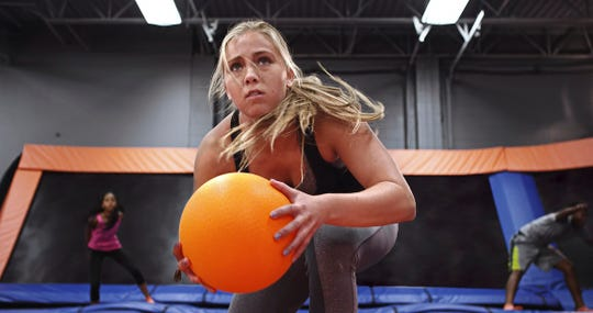 Branson Parks & Recreation is offering adult coed trampoline dodgeball.