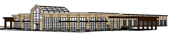 This rendering shows what the Lazydays RV will look like in Murfreesboro.