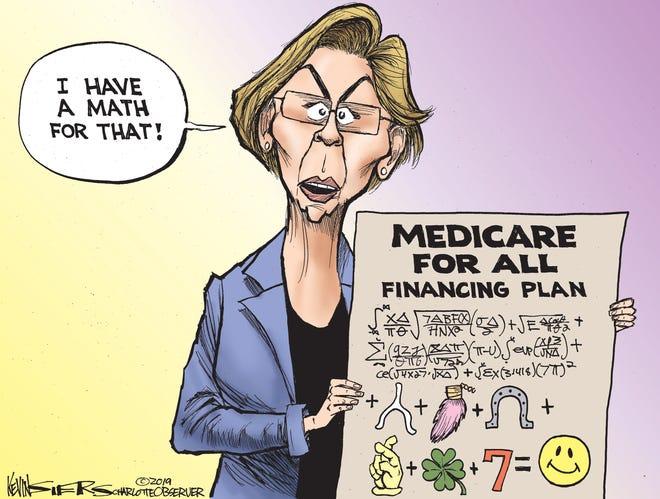 Warren has a math for that.