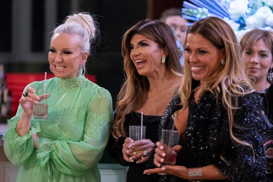 "Margaret Josephs (l-r), Teresa Giudice, Dolores Catania of ""The Real Housewives of New Jersey"""