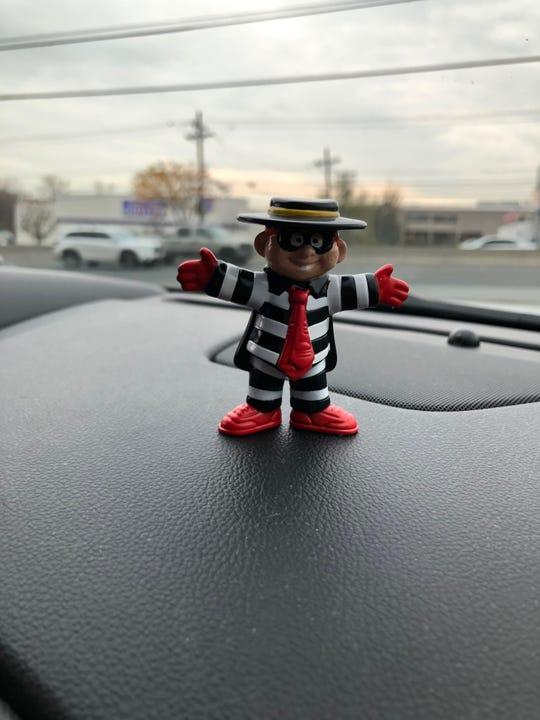 We found the Hamburglar at the Paramus McDonald's on Route 4.