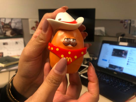 The Cowboy Chicken Nugget is the oldest vintage toy available. He made his debut in 1988.
