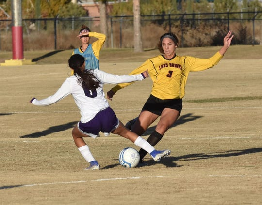 The Centennial girls soccer team will play in the Class 5A state championship game against Volcano Vista on Friday.