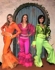 Donna and the Dynamos are Morgan Vick, as Tanya; Reagan Marinucci as Donna and Mila Vucelic as Rosie.