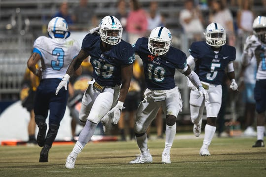 The UWF Football team had a record setting night in their home opener against Virginia Lynchburg, with the shutting out the Dragons 69-0 at Blue Wahoos Stadium on Sept. 21.