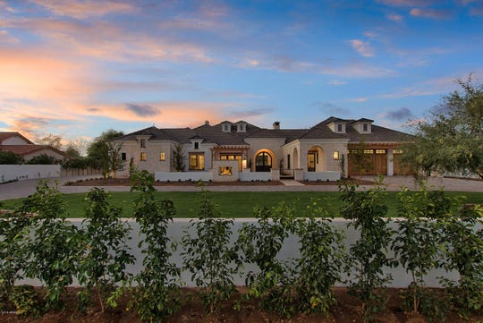 Robert and Linda Bradley paid $2.75 million for a modern French colonial-style mansion in Scottsdale.