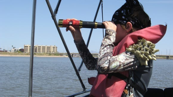 For Sawyer's pirate-themed 9th birthday party, we rented a pontoon boat at Tempe Town Lake and took his young friends with eye patches and plastic swords out to sea.