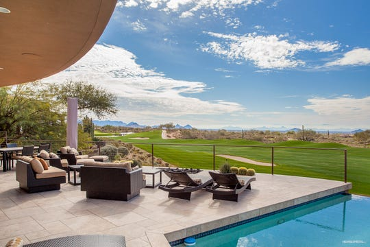 James Haroun paid $2.45 million for this golf course lot estate in Scottsdale's Desert Mountain community.