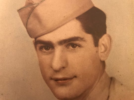My father, Andy Montini, during World War II