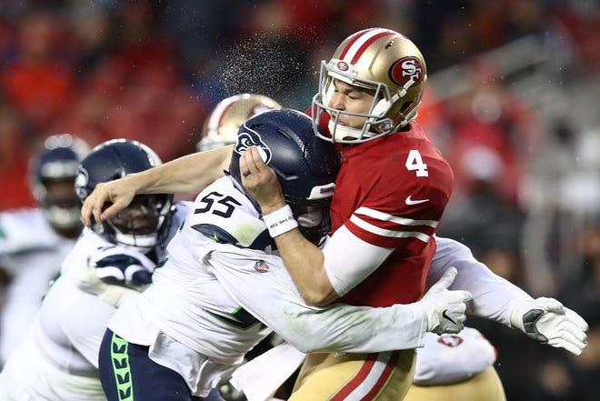 49ers y Seahawks se medirán en juego de Lunes por la Noche.