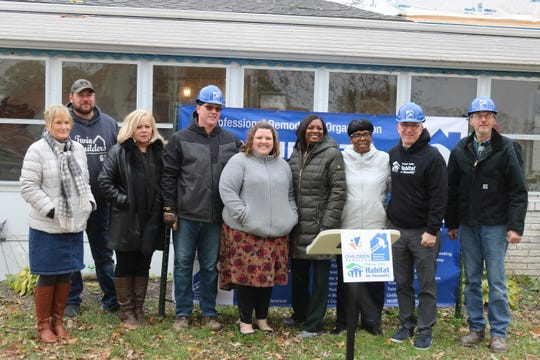 The Professional Remodelers Organization, Lucas County Children Services and Maumee Valley Habitat for Humanity all partnered to help the McCloskey family add a second floor to their home in Curtice.