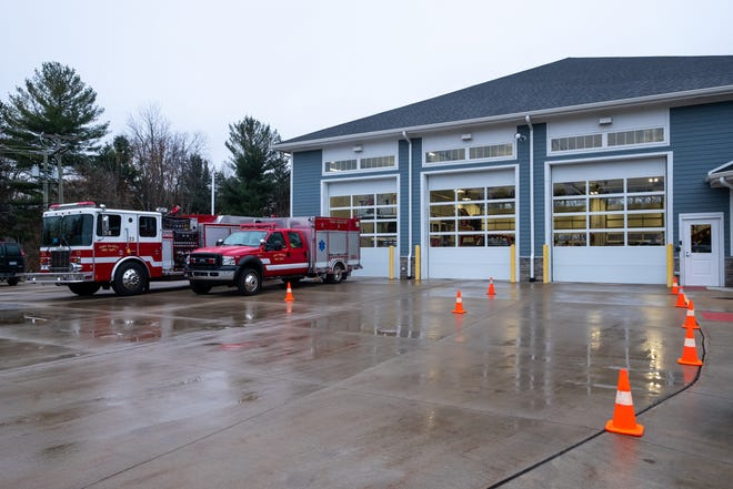 Fort Gratiot Fire Department was one of 13 fire departments that responded to a field fire in Kenockee Township on March 21, 2021.