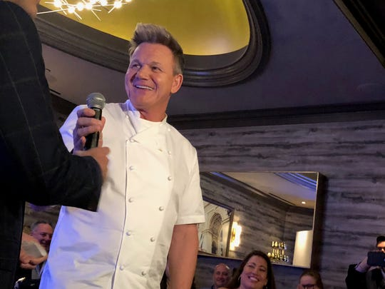 Gordon Ramsay at Gordon Ramsay Steak in Las Vegas on Wednesday, Nov. 6, 2019.