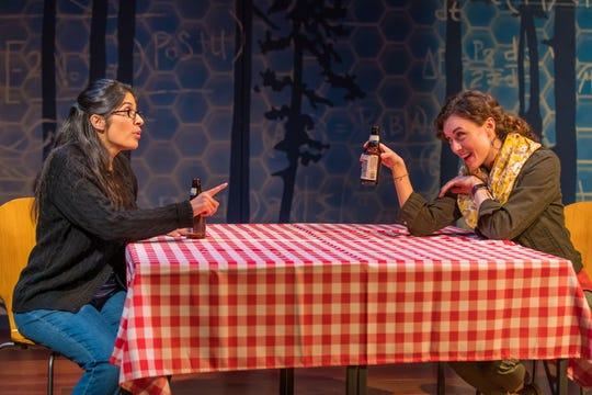 Nikhaar Kishnani as Sanam and Marina Shay as Ariel have an enduring friendship.