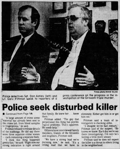 Pictured is a newspaper clipping from a Friday, Nov. 10, 1989, issue of The Times.
