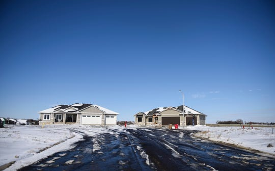 The Kelly Point Addition property development is seen from Mickelson Road on Thursday, Nov. 7, 2019 in Hartford, S.D.