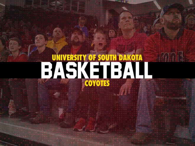 South Dakota basketball tile