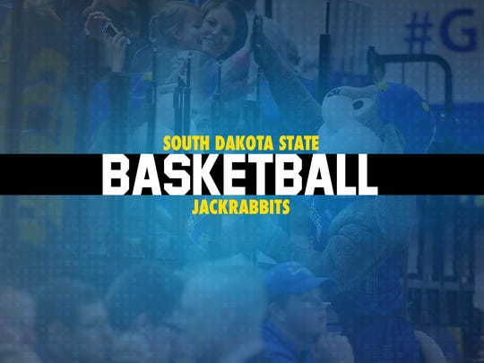 South Dakota State basketball tile