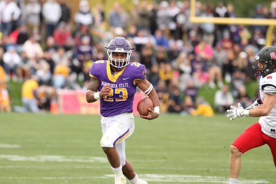 Nate Gunn has led MSU-Mankato to a 9-0 record this season.