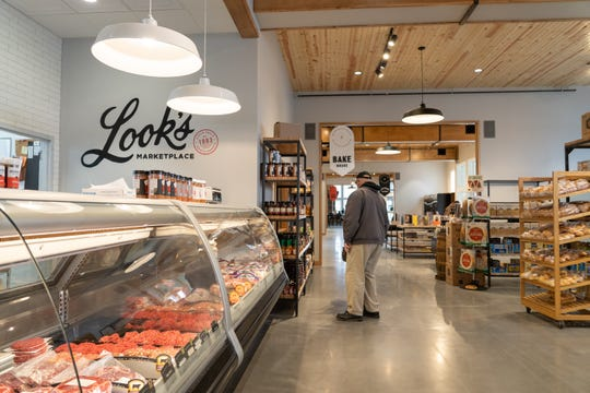 A photo of Look's Marketplace, which opened in a new location at 500 E 69th St.