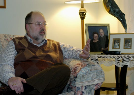 From his home in Whiting, Mark Maslowski talks about his plans for Portage County and its residents if elected as county executive on Tuesday   in 2006.