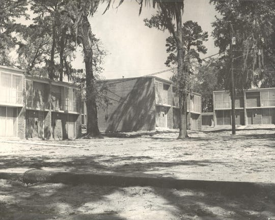 Polkinghorne Village, opened in 1948, was Florida A&M University's housing for married students. It was demolished in 2012. In August 2014, a new 800-bed residence hall opened on the site on Gamble Street, between Perry Street and Wahnish Way.
