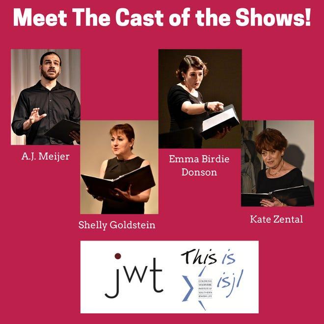 "Jewish Women's Theatre is presenting ""The Matzo Ball Diaries"" at Temple Israel"