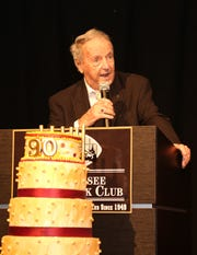 """Scenes from the Tallahassee Quarterback Club's """"90th Dadgum Birthday Bash"""" for legendary Seminoles football coach Bobby Bowden  at the University Center Club last year."""