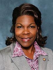 Sen. Audrey Gibson, D-Jacksonville,l Senate Democratic Leader