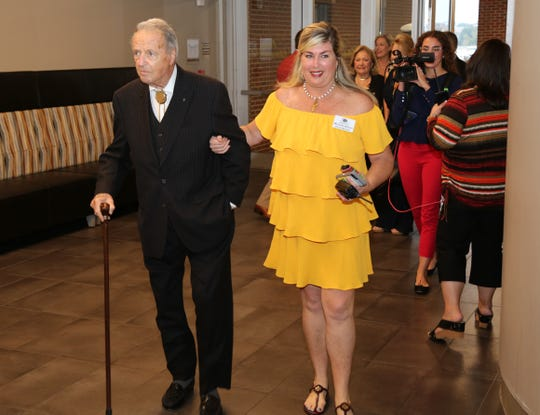 "Scenes from the Tallahassee Quarterback Club's ""90th Dadgum Birthday Bash"" for legendary Seminoles football coach Bobby Bowden  at the University Center Club on Tuesday."