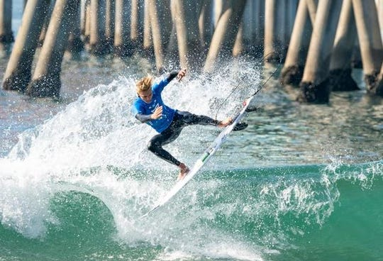 Tommy Coleman of Vero Beach earned a bronze medal for Team USA at the ISA World Championships in Huntington Beach, Calif.