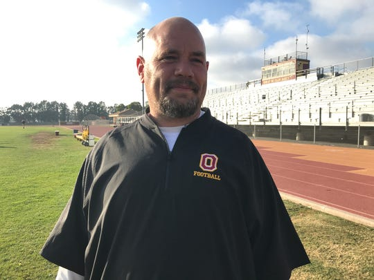 After spending 24 years at St. Bonaventure High as a player and a coach, Oxnard High co-defensive coordinator Nathan Page will face his alma mater on Friday night in the first round of the CIF-Southern Section Division 5 playoffs.