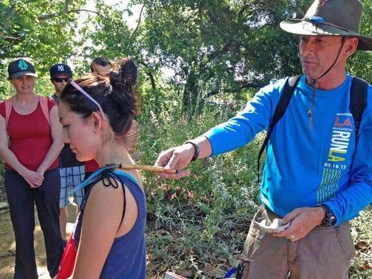 Jim Adams will give three medicinal plant walks Nov. 9 at theSanta Monica Mountains Visitor Centerat King Gillette Ranch in Calabasas.