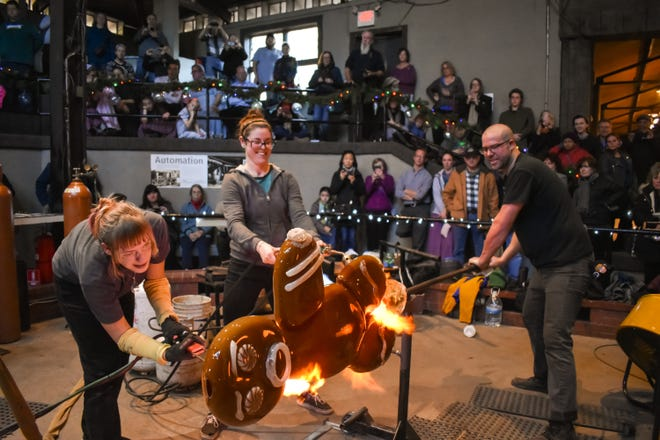 Wheaton Arts and Cultural Center will celebrate the start of the holiday season with the 11th annual Big Glass Blast event on Nov. 29.