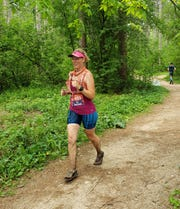 Robin Grapa of Kaukauna decided to become an over-the-road trucker and an ultramarathoner after surviving a rare blood disease called aplastic anemia.