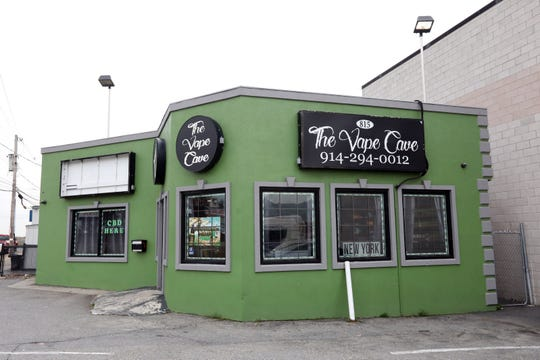 The Vape Cave YO in Yonkers Nov. 7, 2019.