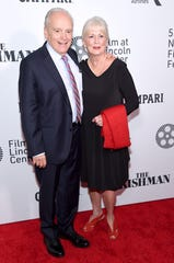 "Author and prosecutor Charles Brandt attends ""The Irishman"" screening during the 57th New York Film Festival at Alice Tully Hall, Lincoln Center on September 27, 2019 in New York City."