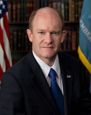 Chris Coons is a U.S. senator from Delawawre