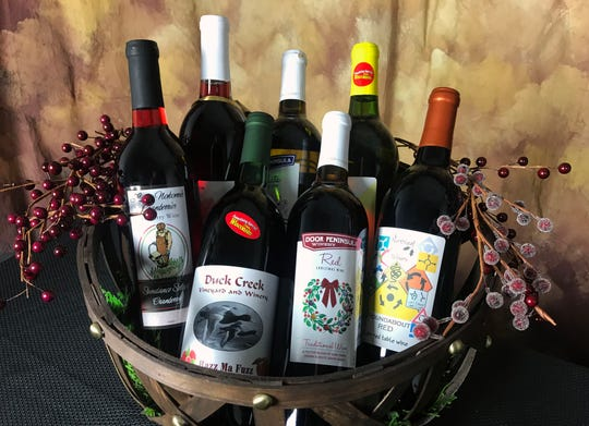 Wisconsin is a treasure trove filled with special homegrown gift-giving ideas for the holidays like these wines.