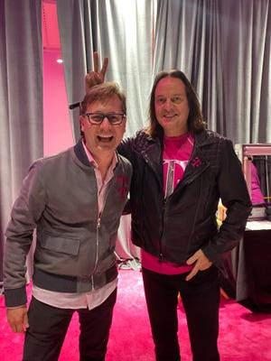 T-Mobile's COO Mike Sievert and CEO John Legere.