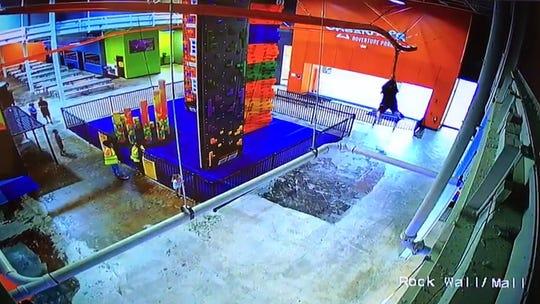 Screenshot of video footage.
