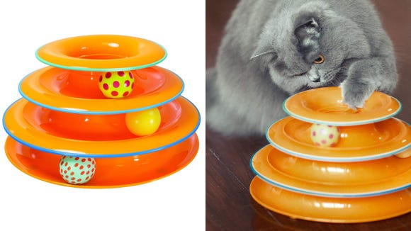Best cat gifts 2019: Petstages Cat Tracks Cat Toy