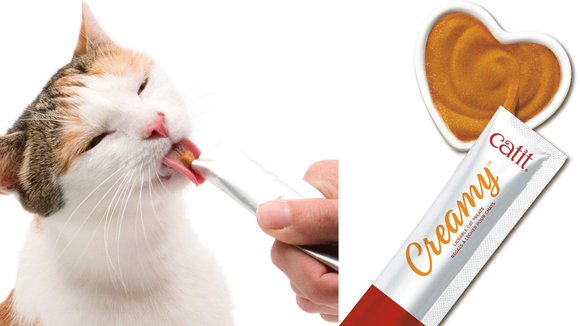 Best cat gifts 2019: Catit Creamy Treats