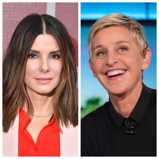 Celebrity Beauty: Sandra Bullock and Ellen Degeneres