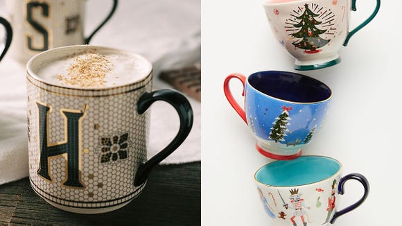 These mugs are classic and adorable.
