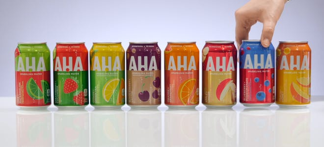 Coca Cola will debut new flavored sparkling water brand AHA in March