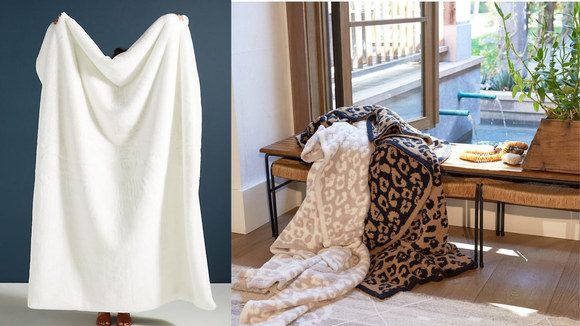 Best gifts for women 2019: Throw Blankets
