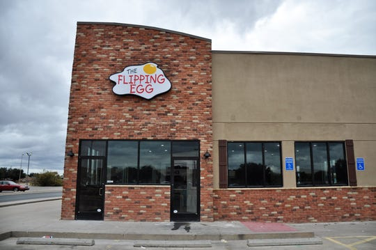 The Flipping Egg moved to a new location at 4138 Ridgemont Dr. on Friday.